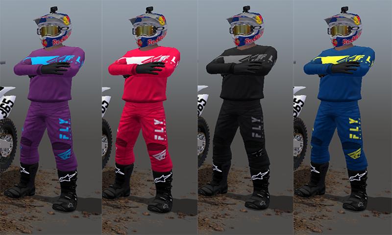 2019 Fly Racing Kinetic Gear