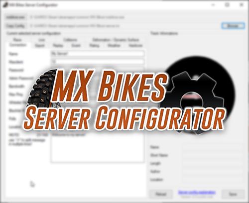 MX Bikes Server Configurator