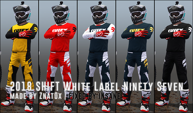 2018 SHIFT White Label Ninety Seven / Special Edition FIXED VERSION