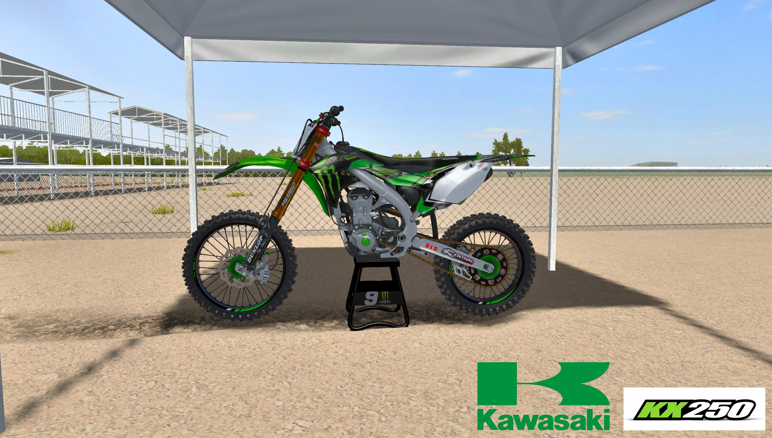 Monster Energy Kawasaki kx250f