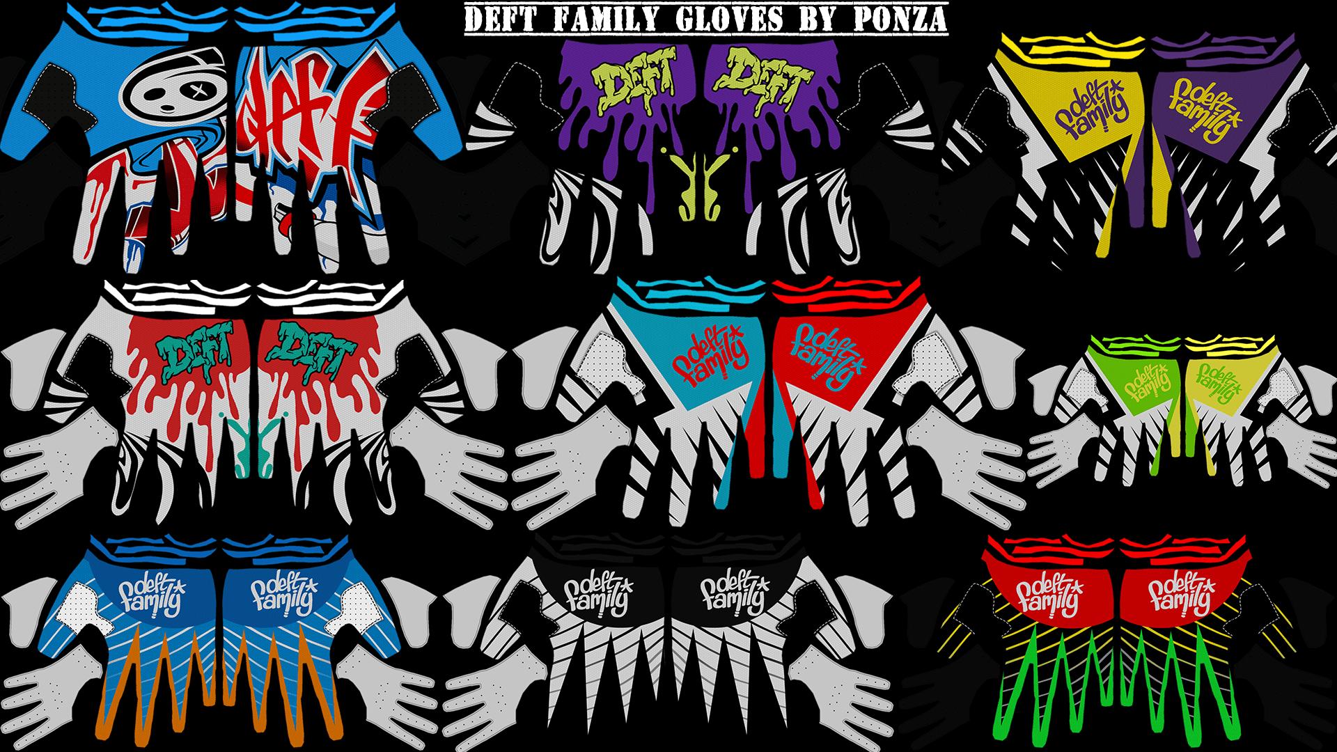 Deft Family Gloves Pack