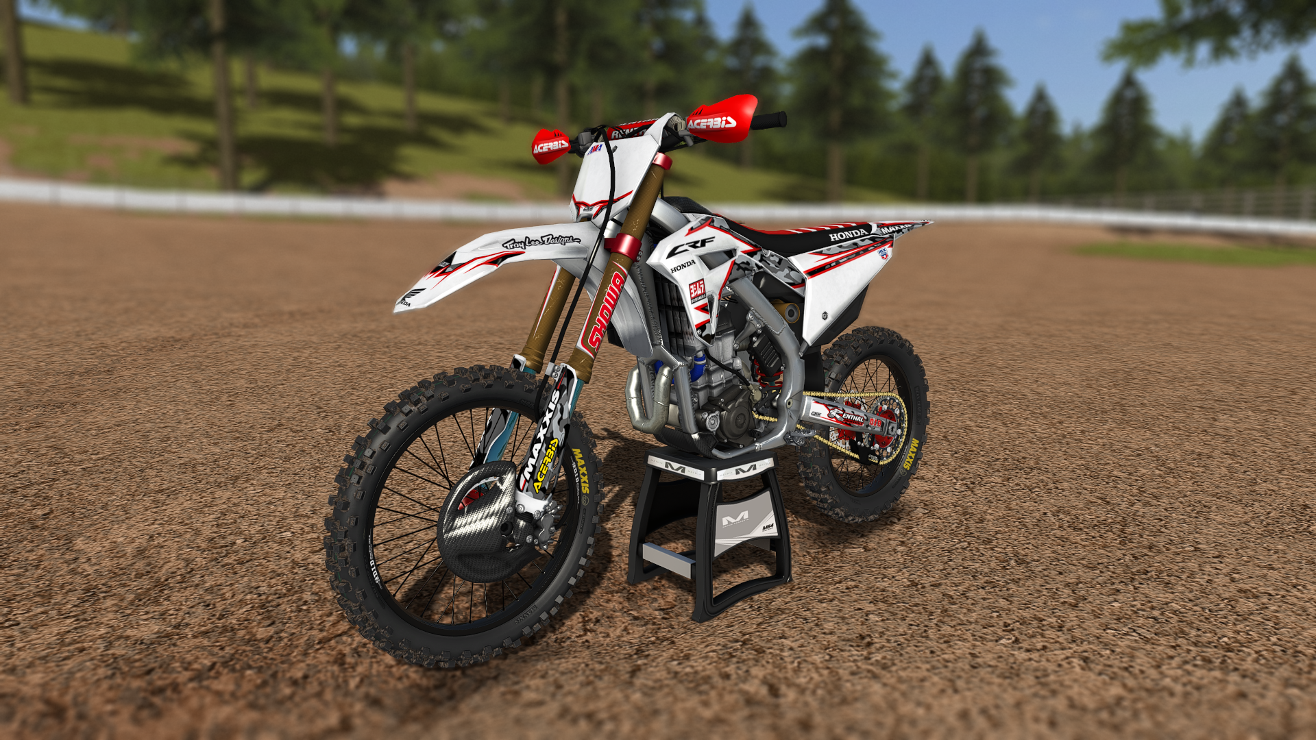 CRF 450 RW DeCal Works Camo Series