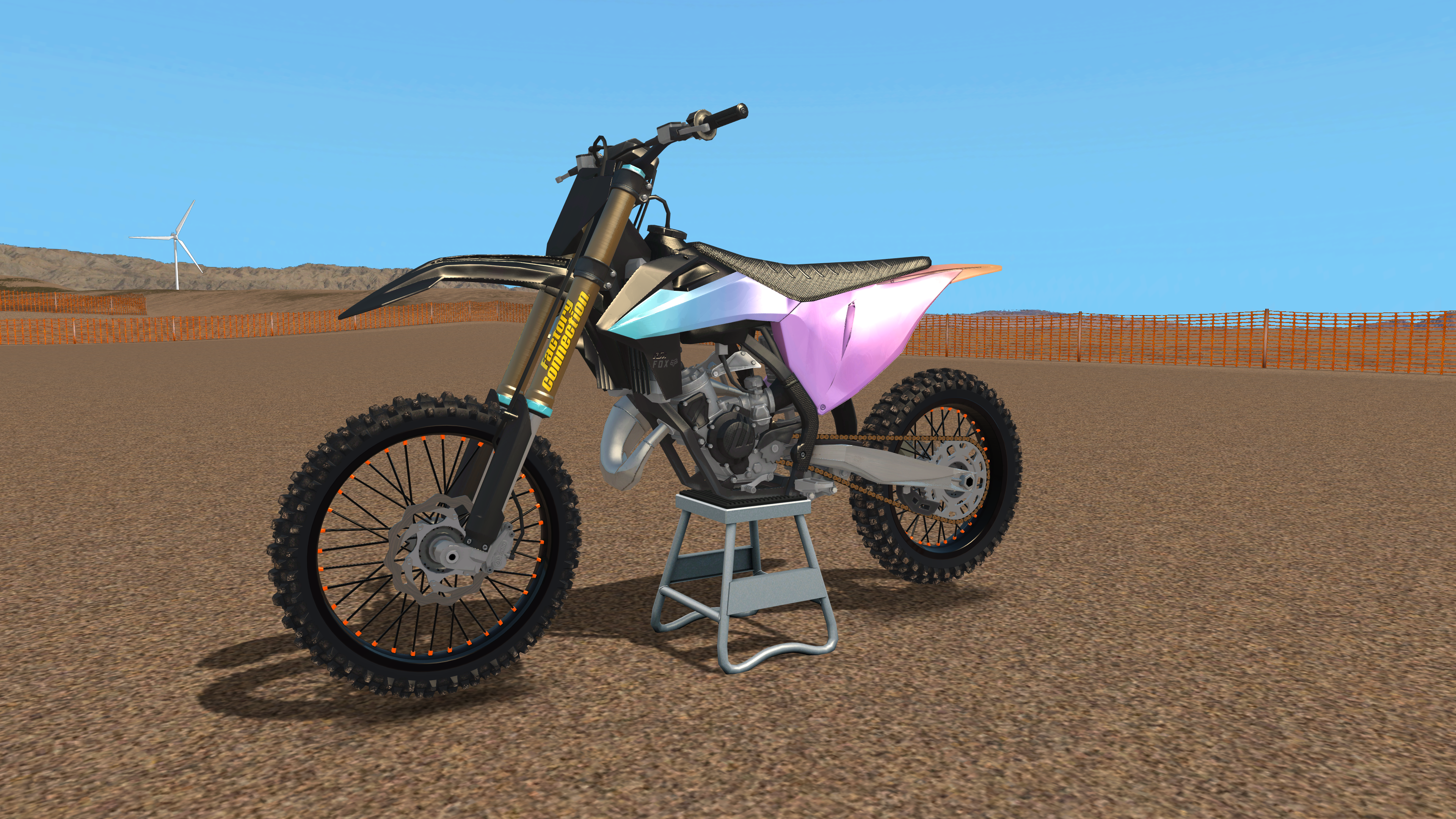 KTM SX/SX-F Colour Gradient