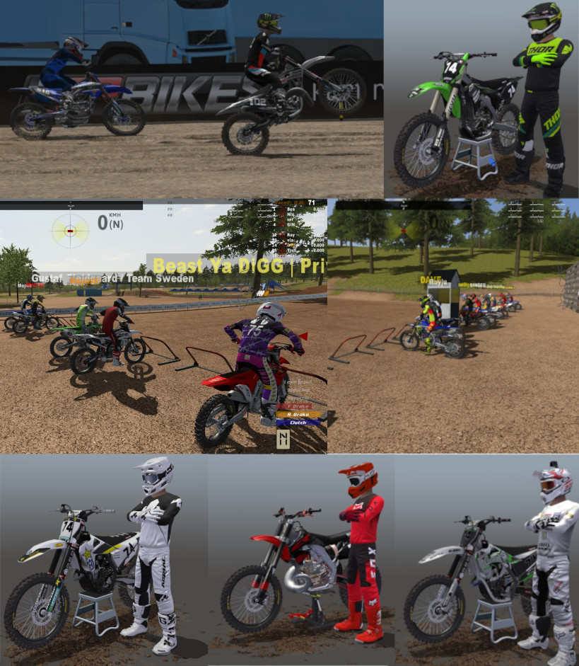 Full Shop [All MXB-MODS] Huge Pack 14go || Bikes Skins, Rider gear, Since the beginin to 11/23/2020