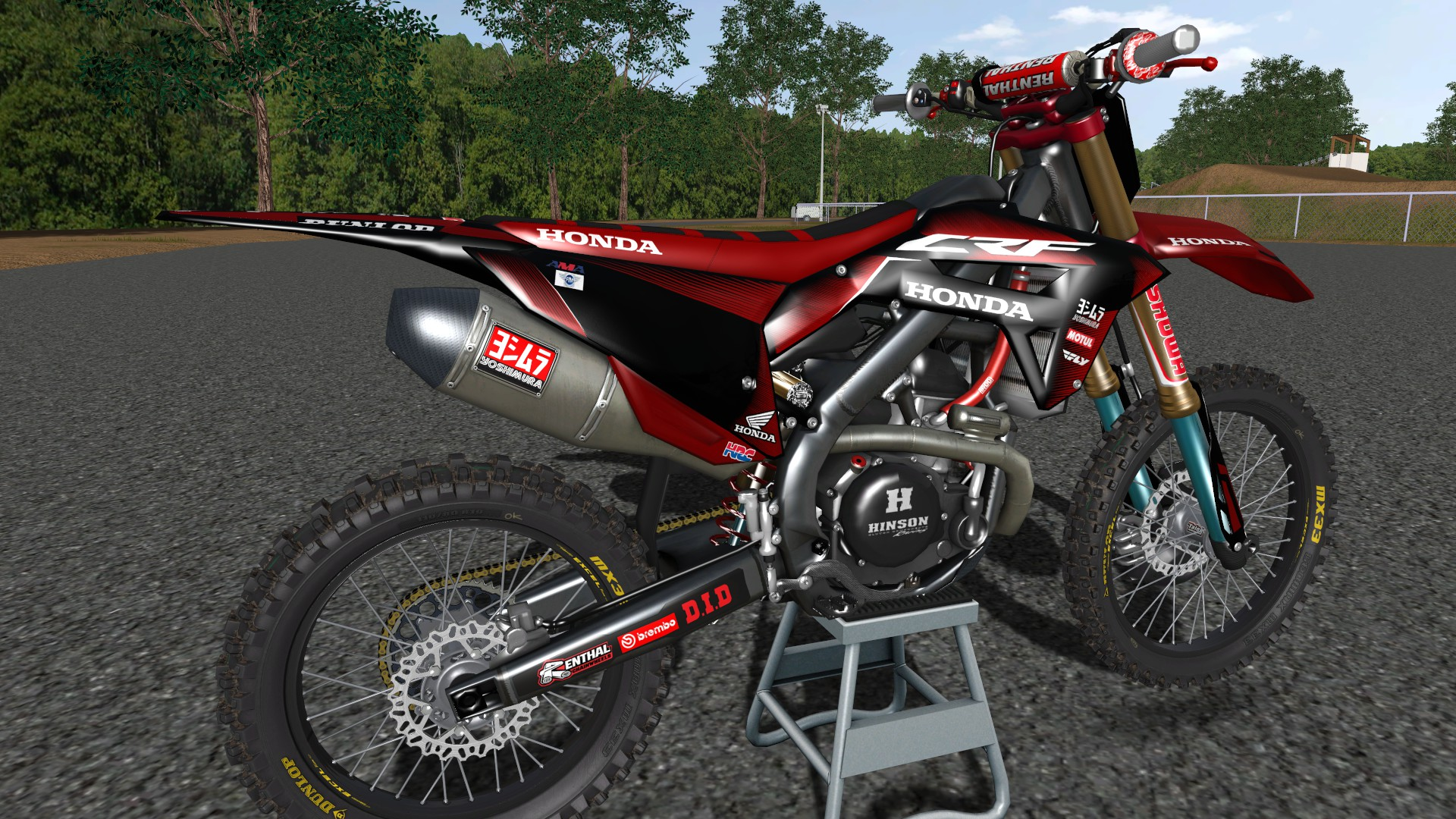 *UPDATED* By Andersson 2021 CRF450 v2 (MUCH BETTER QUALITY)