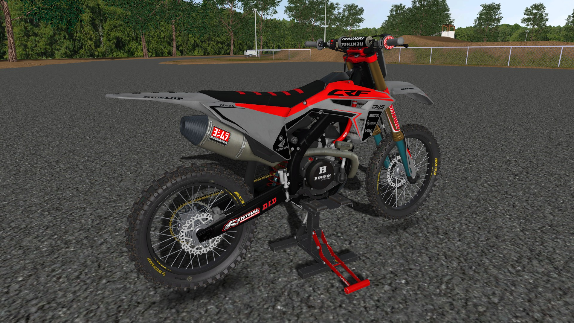 DWS Decals CRF250/450 2021 By Andersson198