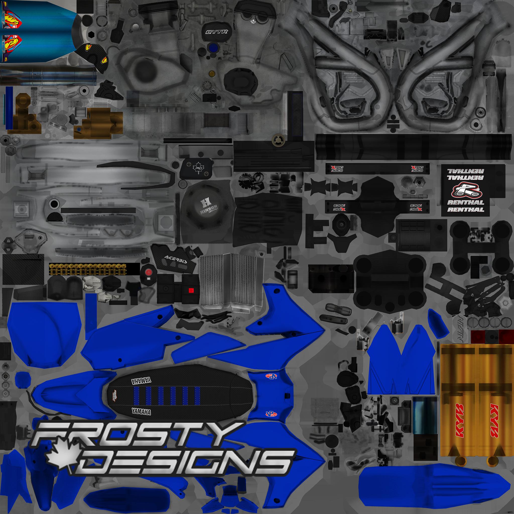 Frosty's YZF PSD – Beta 15 OEM's