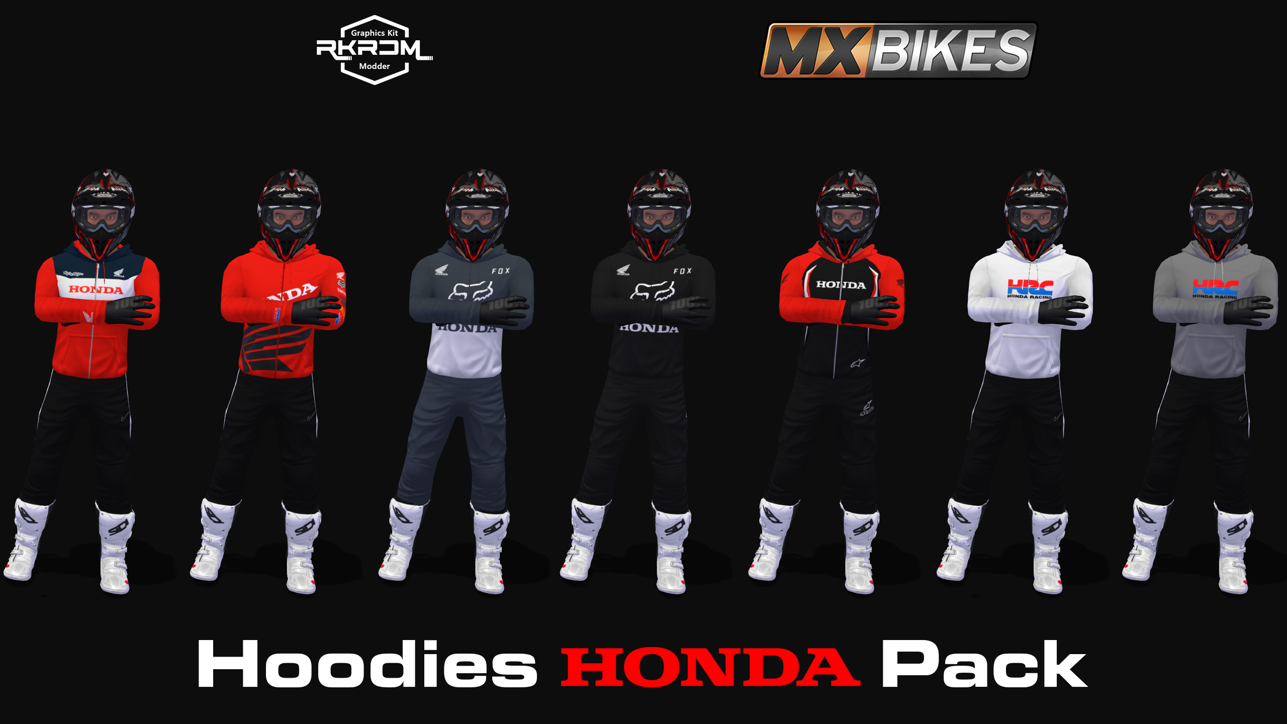 Hoodies Honda Pack