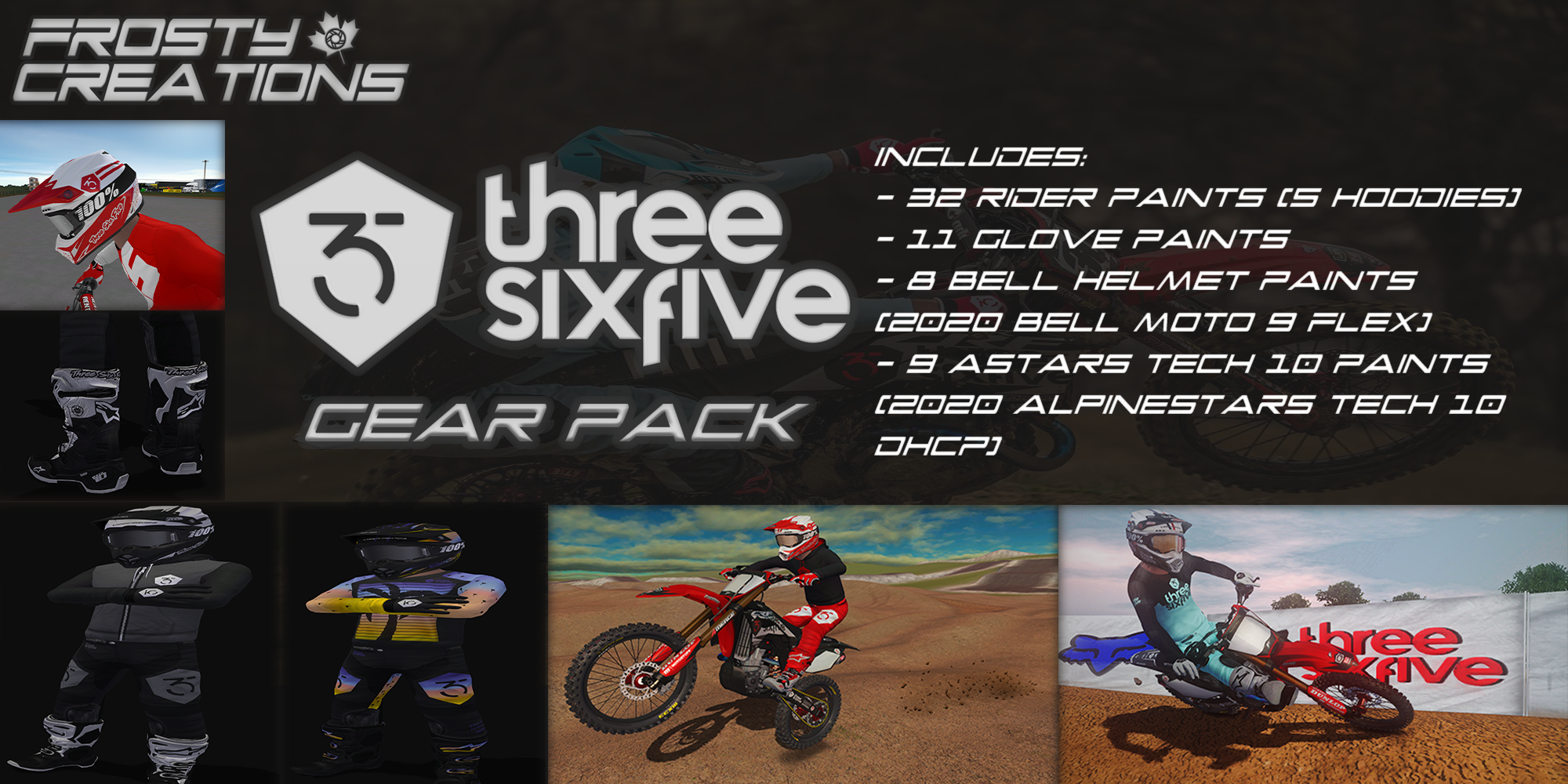 365MX Gear Pack Revamp