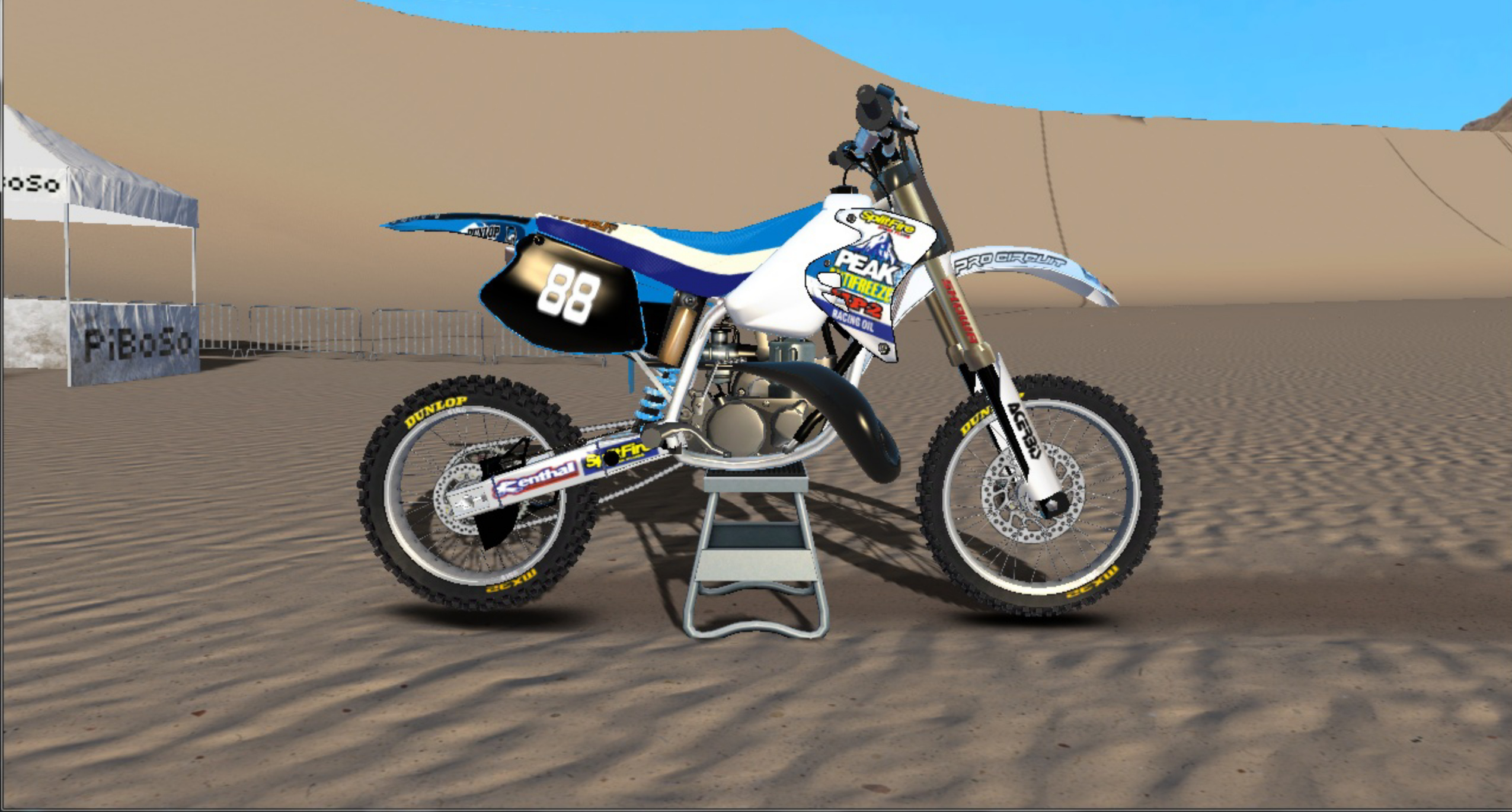 1996 HONDA CR125 (Peak) GRAPHICS