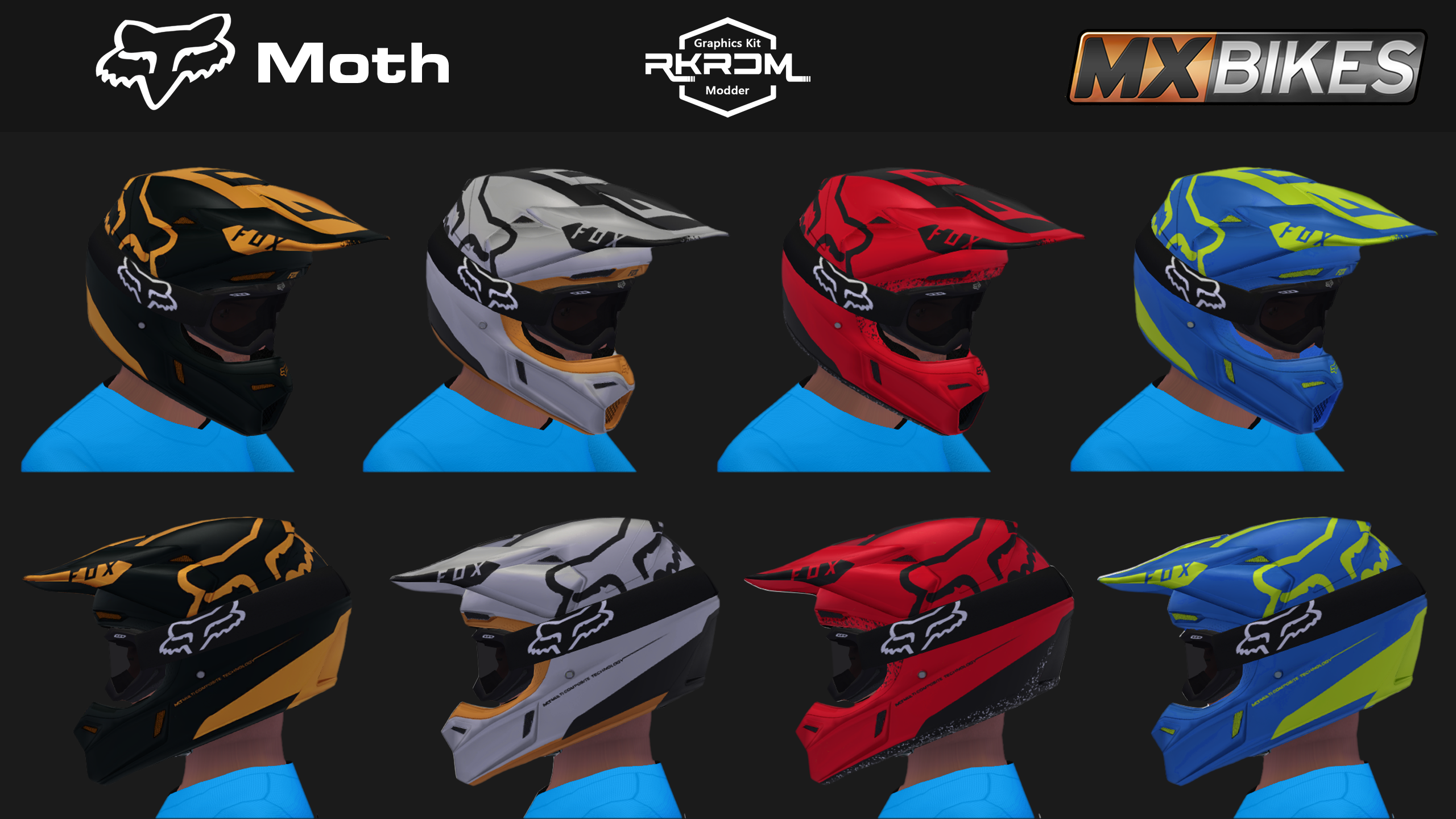 2018 FOX V7 Moth Pack
