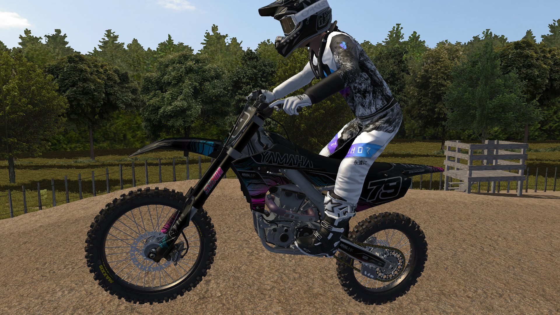 Rival Ink – Mystic Pink – YZF450 Yamaha Graphics